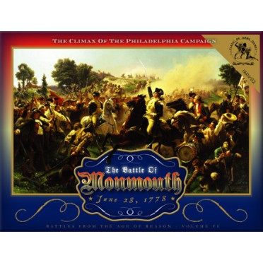 Buy The Battle Of Monmouth Board Game Clash Of Arms