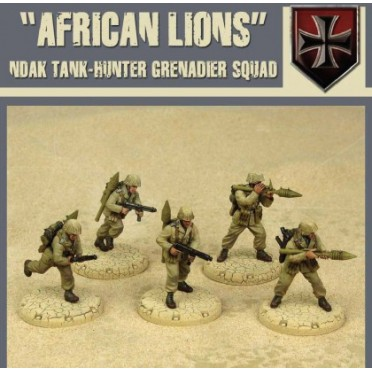 Dust  - African Lions