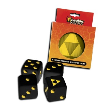D6 Dice Tin - Iconic Tri Force