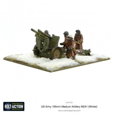 Bolt Action - US Army 105mm Medium Artillery M2A1 (Winter)