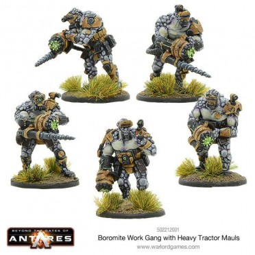 Antares - Boromite Work Gang with Heavy Tractor Mauls