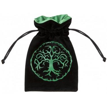 Bourse - Forest : Noir et Vert