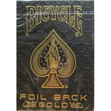 Bicycle - Foil Back Gold