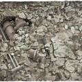 Terrain Mat Mousepad - Urban Ruins - 90x90 4