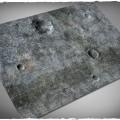 Terrain Mat PVC - City Ruins - 120x120 0
