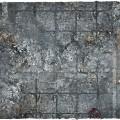 Terrain Mat PVC - City Ruins - 120x120 1
