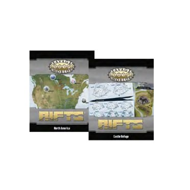 Buy Savage Worlds Rifts Map North America Castle Refuge
