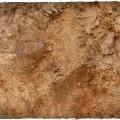 Terrain Mat PVC - Badlands - 120x120 2