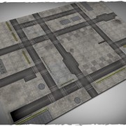 Terrain Mat Mousepad - Cityscape 1 - 120x180
