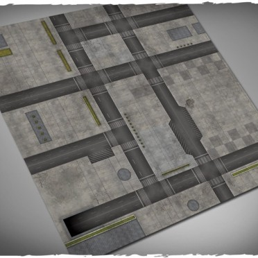 Terrain Mat Cloth - Cityscape 1 - 120x120
