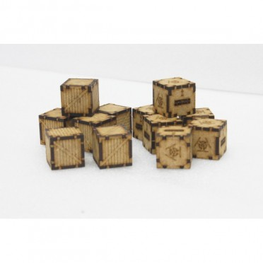 Chemical & Wooden Containers Pack