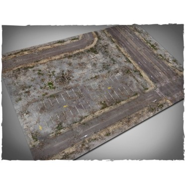 Terrain Mat PVC - Walking Dead City - 120x180