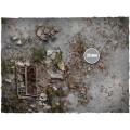 Terrain Mat PVC - Walking Dead City - 120x180 3