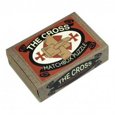 Matchbox Puzzle - The Cross