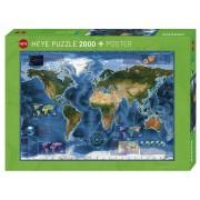 Puzzle - Satellite Map de Rajko Zigic - 2000 Pièces