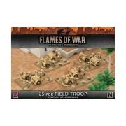 25 pdr Field Troop