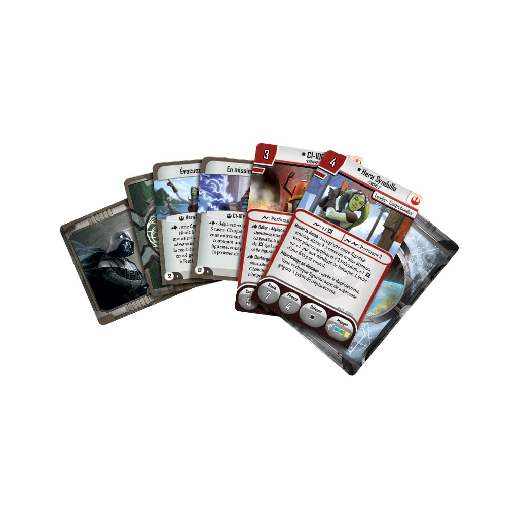 Fantasy Flight Games FFSWI43 Hera Syndulla and C1-10P Imperial Assault Collection
