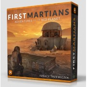 Boite de First Martians: Adventures on the Red Planet