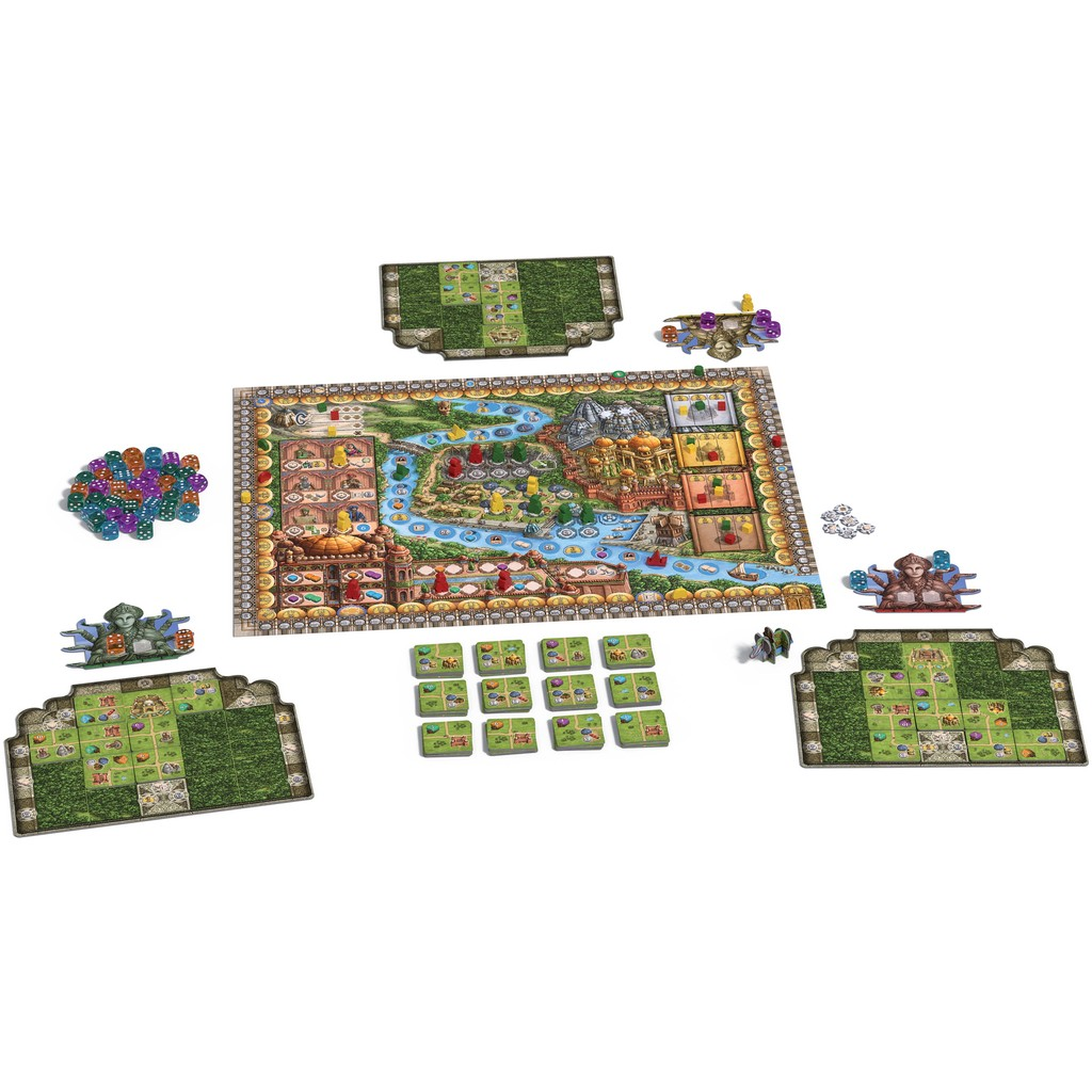 Rajas of the Ganges Review - with Tom Vasel - YouTube