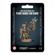 W40K : Death Guard - Plague Marine Icon Bearer