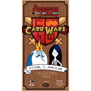 Buy Adventure Time Card Wars: Ice King vs Marceline - Board Game -  Cryptozoic Entertainment