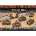 M3 Stuart Light Tank Platoon 0