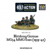 Bolt Action - Blitzkrieg German MG34MMG Team (1939-42)