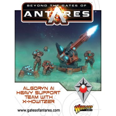 Beyond the Gate of Antares - Algoryn Al Heavy Support Team with X-Howitzer