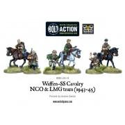 Bolt Action - Waffen SS Cavalry NCO & LMG Team (1942-45)