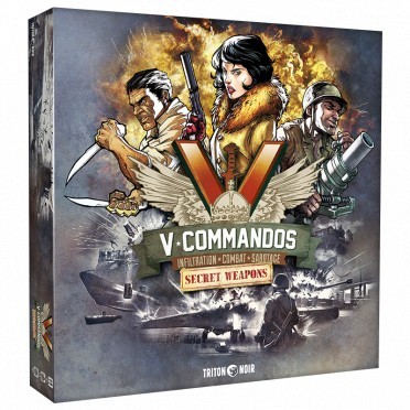 V-Commandos - Extension Secret Weapons