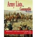 Contemptible Little Armies: Army Lists vol.2 0