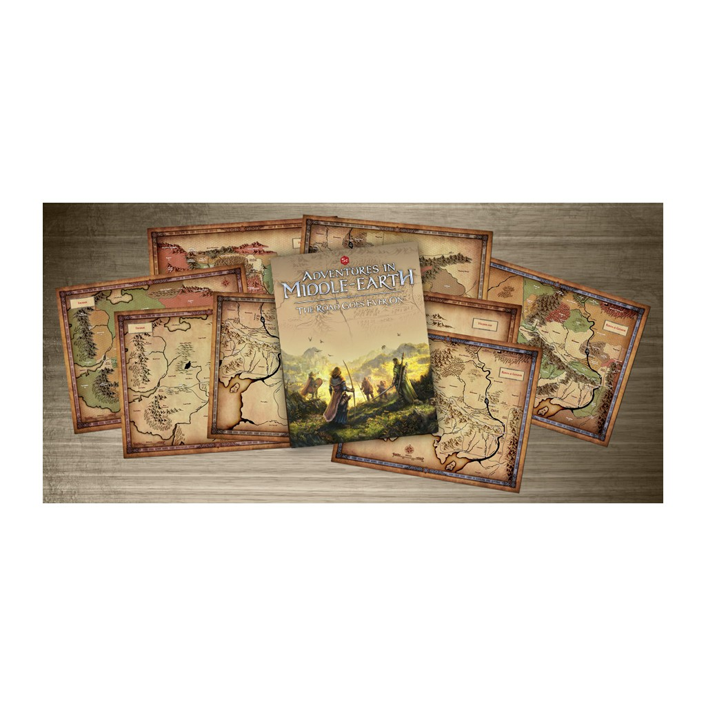 Buy Adventures In Middle Earth The Road Goes Ever On Roleplaying