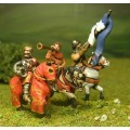 Command pack: Mounted King, Standard Bearer and Herald 1300-1360 0