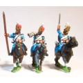 Cavalry: Command: Hussar: Officer, Standard Bearer & Trumpeter 0