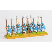 Sung Chinese: Medium Infantry with long thrusting spear & shield