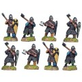 Dismounted Norman Knights with Axes 0