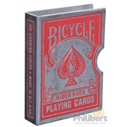 Bicycle - Rider Back : Rouge - Clip Card