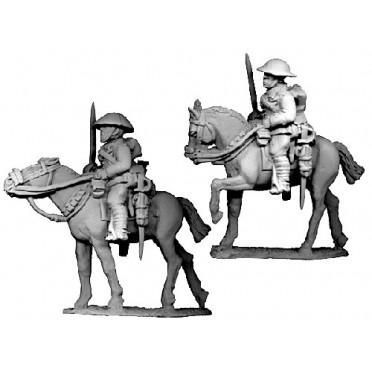 British Cavalry with Swords