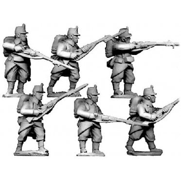 Infantry in Shakos and packs