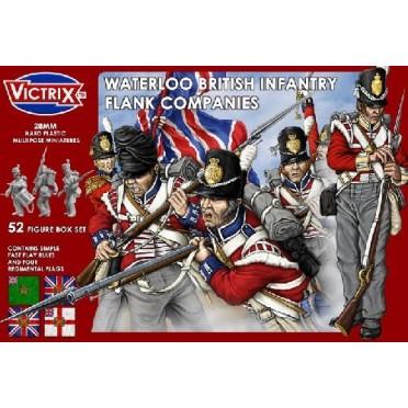 VX0003 Waterloo british infantry flank companies Victrix 28mm
