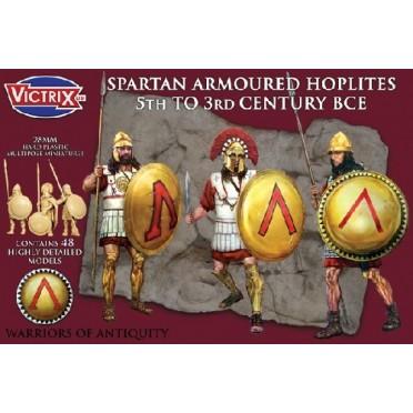 Spartan Armoured Hoplites 5th to 3rd Century BCE