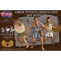 Greek Peltasts, Javelin men and slingers 0