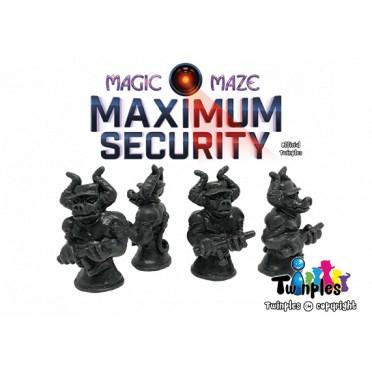 Twinples Magic Maze - Maximum Security
