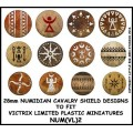 Numidian Cavalry Shield Design 2 0