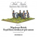 Napoleonic British Royal Horse Artillery 6-pdr cannon 1