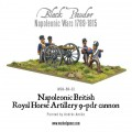 Napoleonic British Royal Horse Artillery 9-pdr cannon 0
