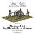 Napoleonic British Royal Horse Artillery 9-pdr cannon 1