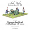 Napoleonic Late French Foot Artillery 6-pdr cannon 4