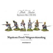 Napoleonic French Voltigeurs skirmishing