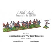 French Indian War 1754-1763: Woodland Indians War Party